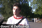 Goon: A Definition